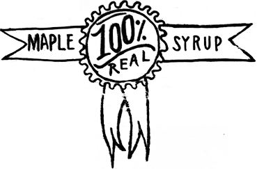 100% Real Maple Syrup